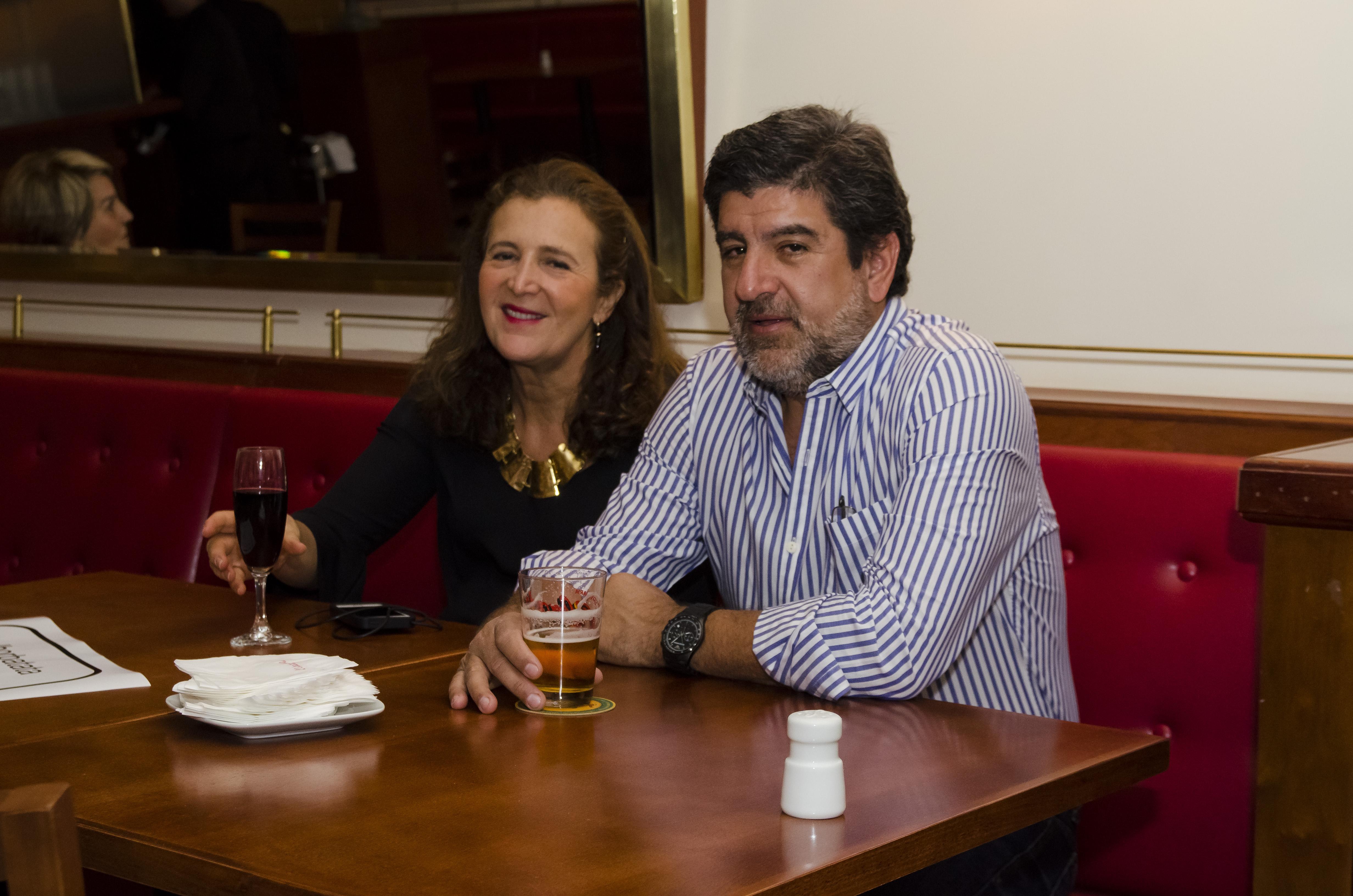 Claudia e Jorge Bistane