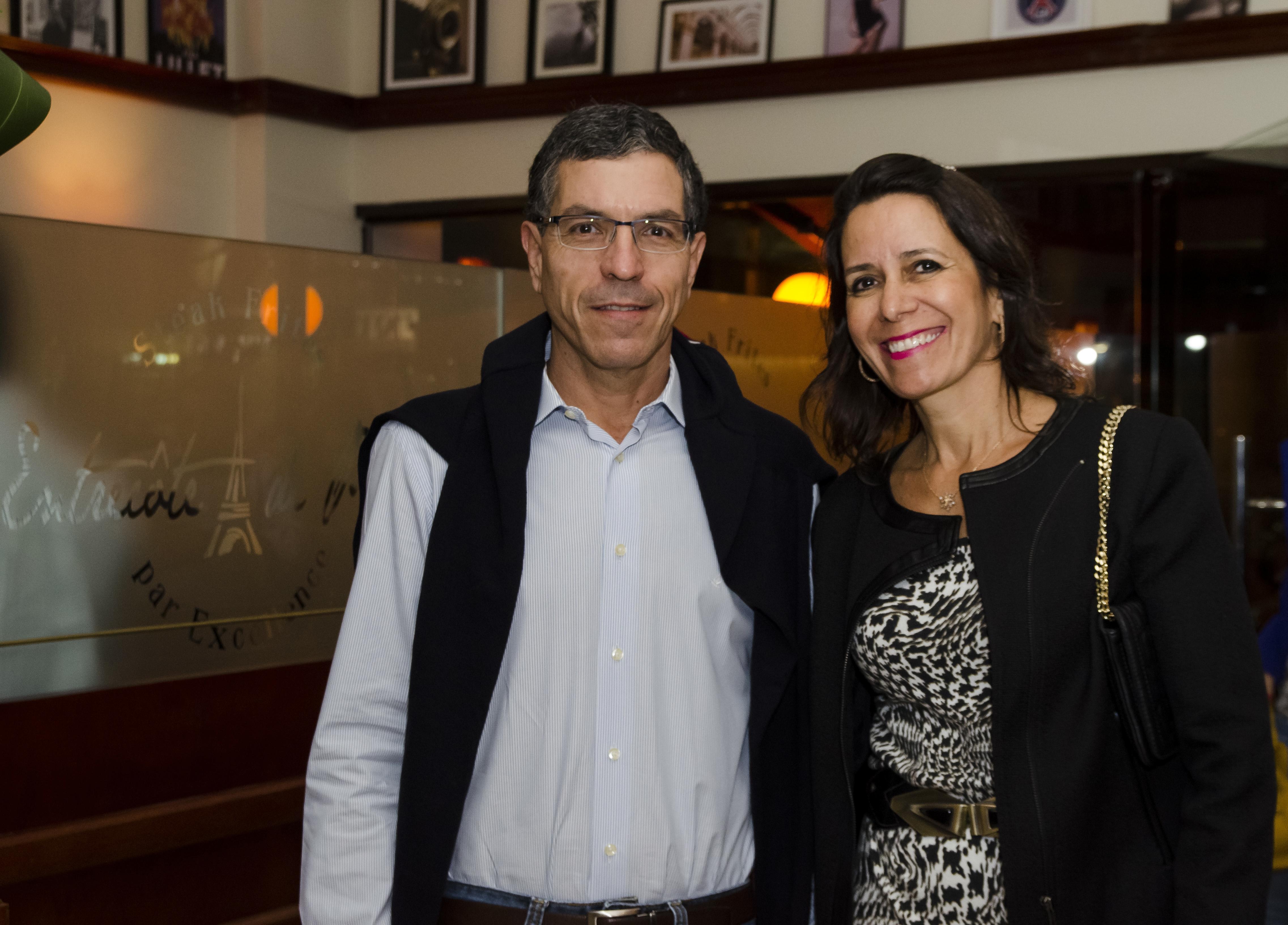 João Paulo Guimarães e esposa