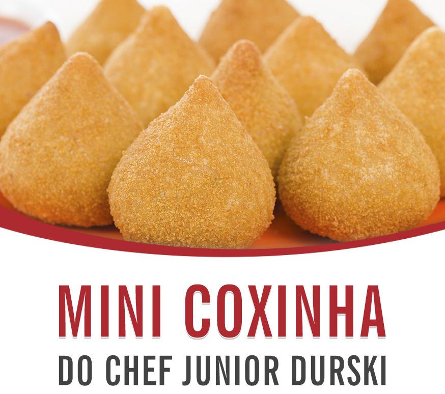Filipeta Mini Coxinha