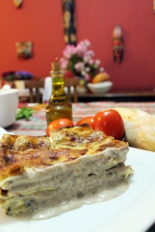 O Pastificio_Lasagna Funghi
