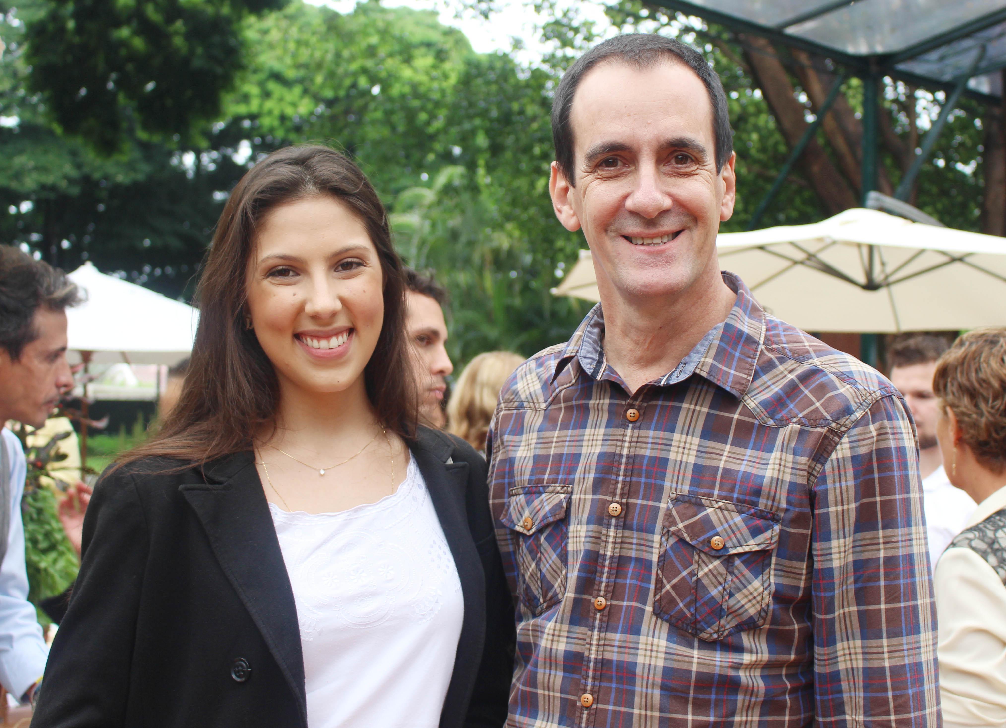 Bruna Salles e Sergio Coelho