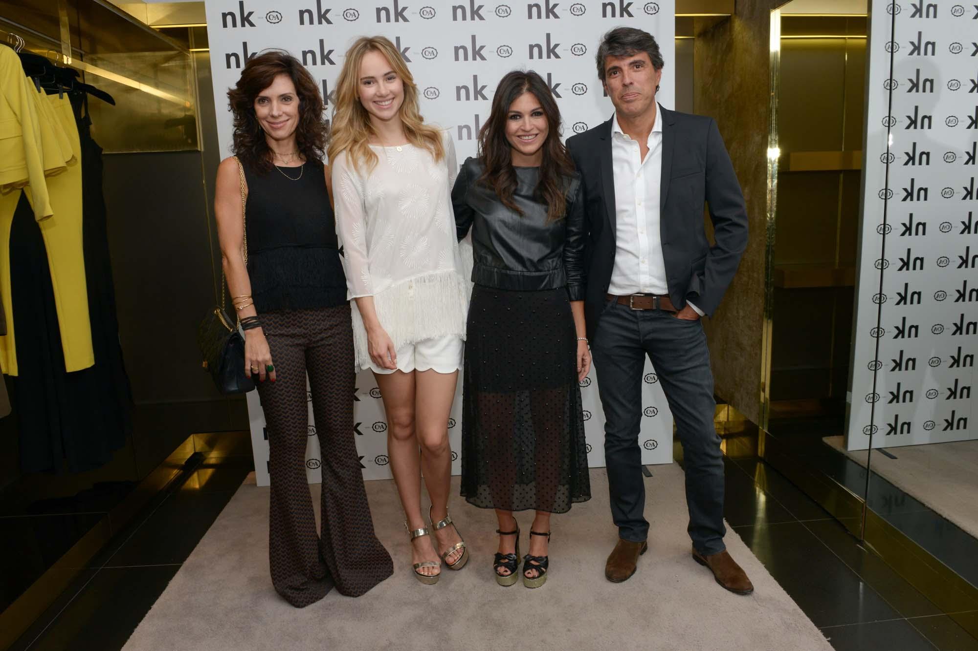 Claudia Albuquerque, Suki Waterhouse e Nathalie Klein e  Paulo Correa  (3)