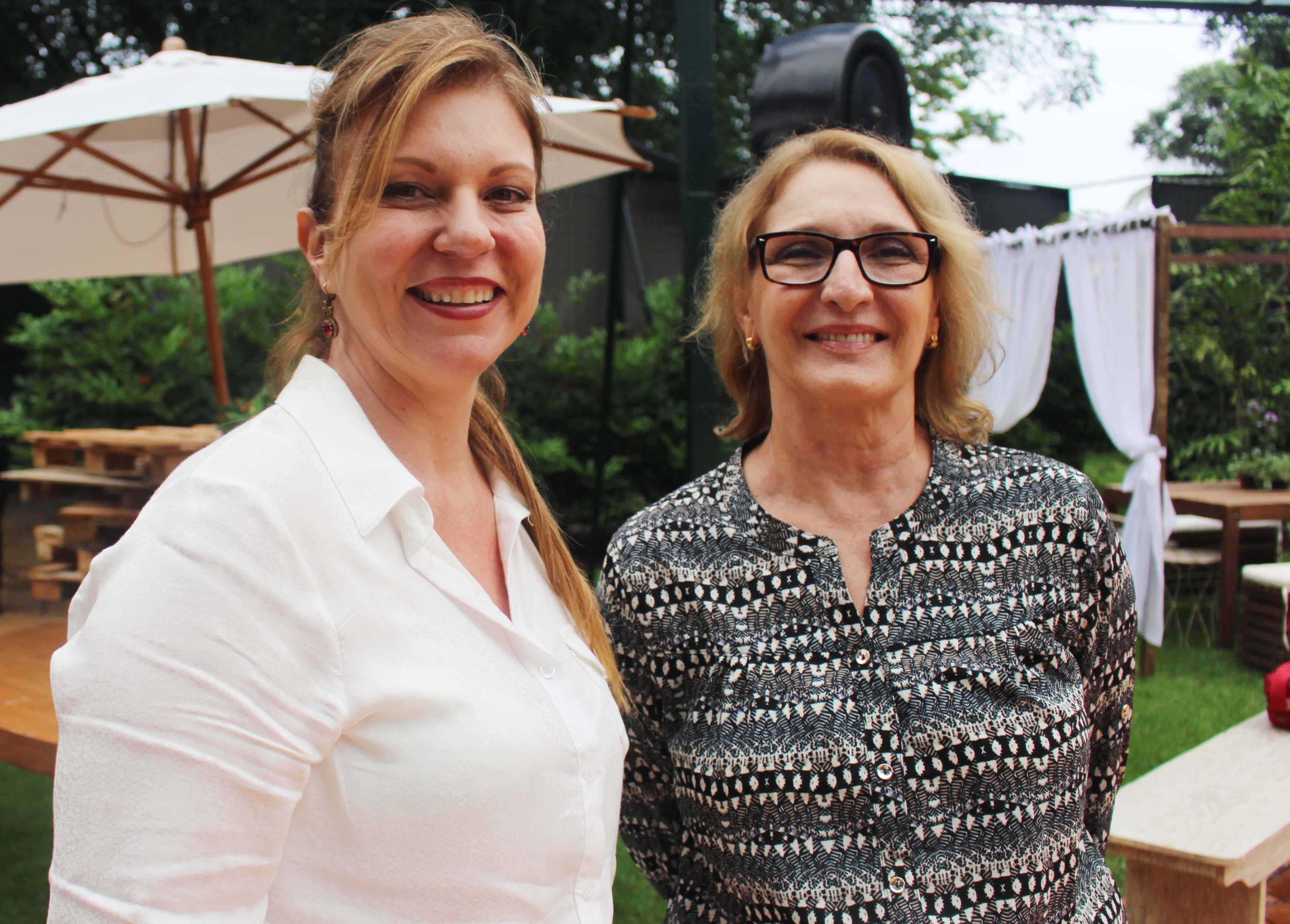 Luceia Ambrosio e Maria Elisete Duz