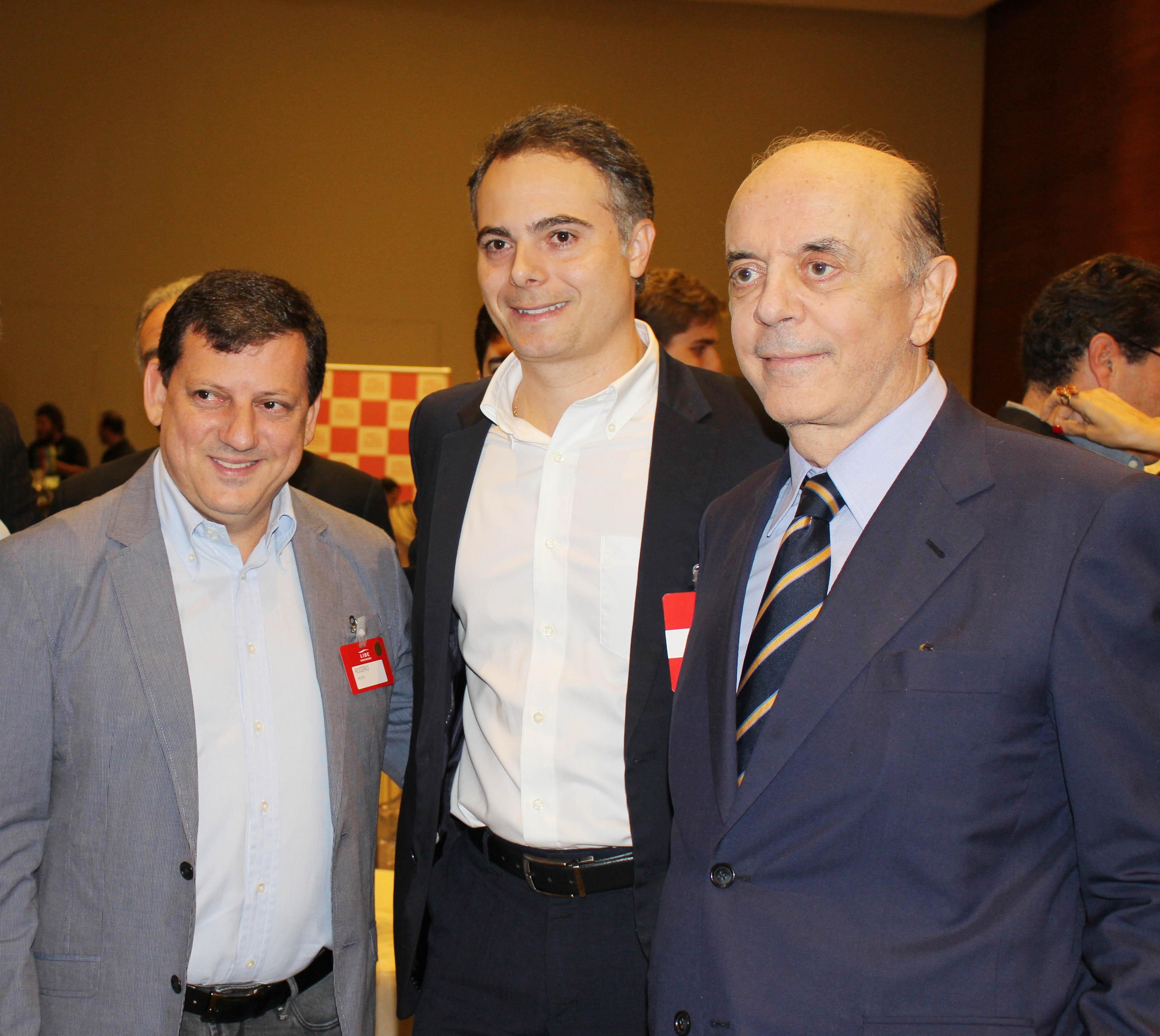 Rogerio Mari_Felix Diez e José Serra